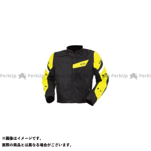 テクニーク ジャケット アクアベントメッシュジャケット(ブラック/デイグローイエロー) サイズ:44 TEKNIC