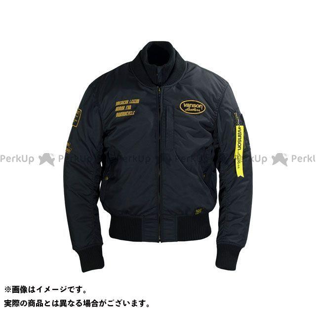 バンソン ジャケット 2019-2020秋冬モデル VS19107W NYLON JACKET(ブラック/イエロー) サイズ:2XL VANSON