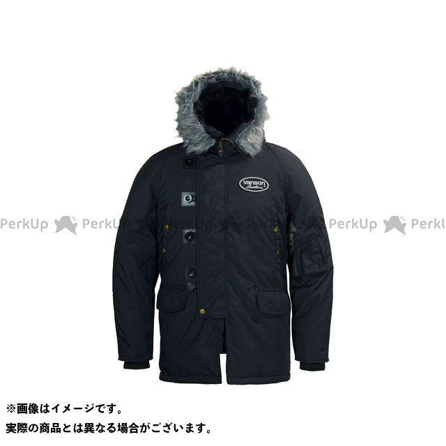 バンソン ジャケット 2019-2020秋冬モデル VS19109W NYLON JACKET(ブラック/ブラック) サイズ:2XL VANSON