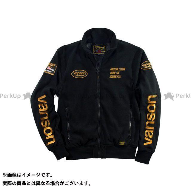バンソン ジャケット 2019-2020秋冬モデル VS19401W FLEECE JACKET(ブラック/イエロー) サイズ:M VANSON