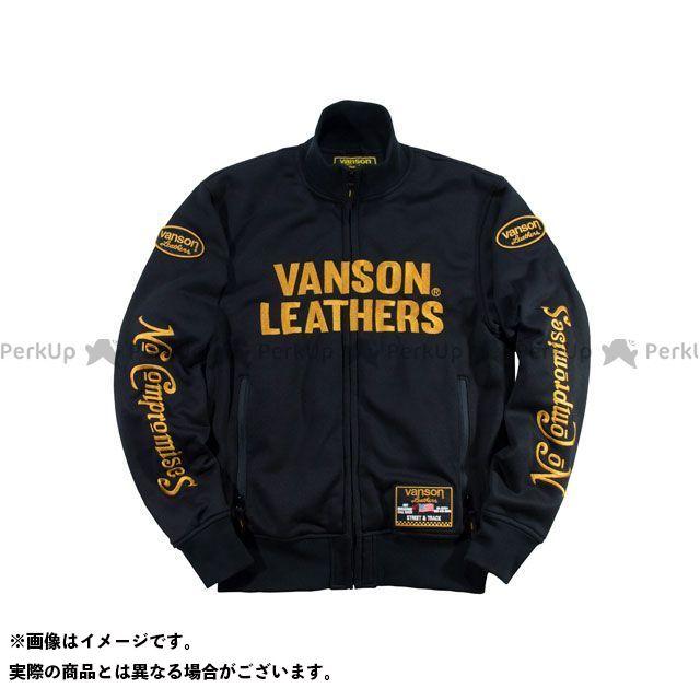 バンソン ジャケット 2019-2020秋冬モデル VS19403W スウェットジャケット(ブラック/イエロー) サイズ:XL VANSON