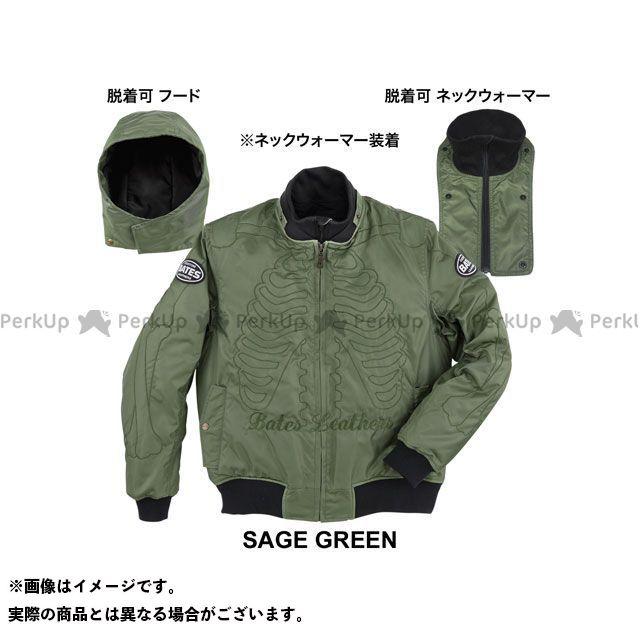 BATES ジャケット 2019-2020秋冬モデル BJ-N1955S ナイロンジャケット(セージグリーン) サイズ:L ベイツ