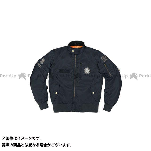 ラフアンドロード ジャケット RR7694 MA-1R FP(ブラック) サイズ:LL ラフ&ロード