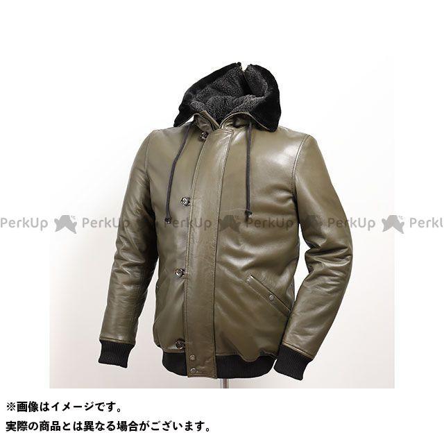 デグナー ジャケット 2019-2020秋冬モデル 19WJ-11 シープレザージャケット(アーミーグリーン) サイズ:XL DEGNER