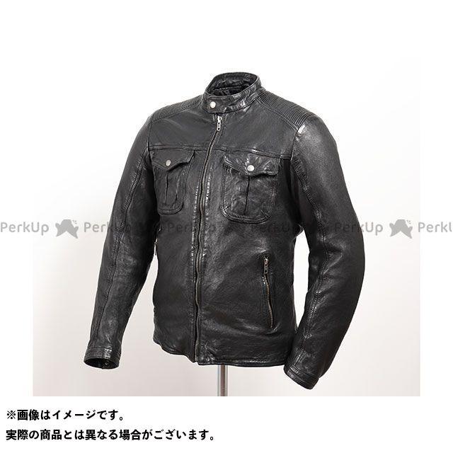 デグナー ジャケット 2019-2020秋冬モデル 19WJ-12 シープレザージャケット(ブラック) サイズ:L DEGNER