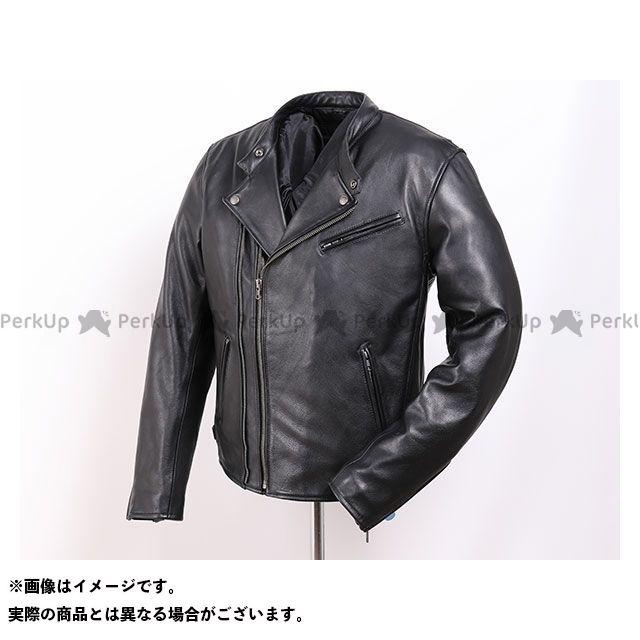 デグナー ジャケット 2019-2020秋冬モデル 19WJ-14 カウレザーダブルジャケット(ブラック) サイズ:M DEGNER