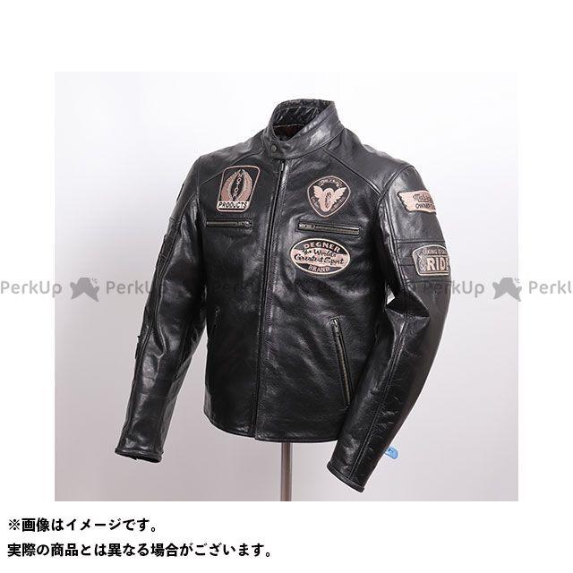 デグナー ジャケット 2019-2020秋冬モデル 19WJ-24 レザージャケット(ブラック) サイズ:XL DEGNER