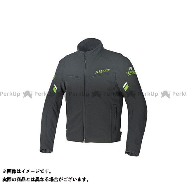 FLAGSHIP ジャケット 2019-2020秋冬モデル FJ-W195 ファストストレッチジャケット(グリーン) サイズ:LL FLAGSHIP