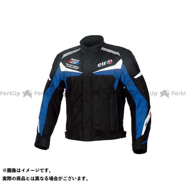 エルフ ライディングウェア ジャケット 2019-2020秋冬モデル EL-9242 WPツーリスモジャケット(ブルー) サイズ:L elf riding wear