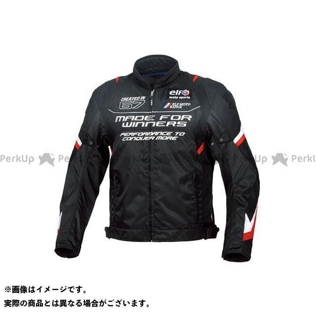エルフ ライディングウェア ジャケット 2019-2020秋冬モデル EL-9245 ヴィストーゾジャケット(レッド) 4L elf riding wear