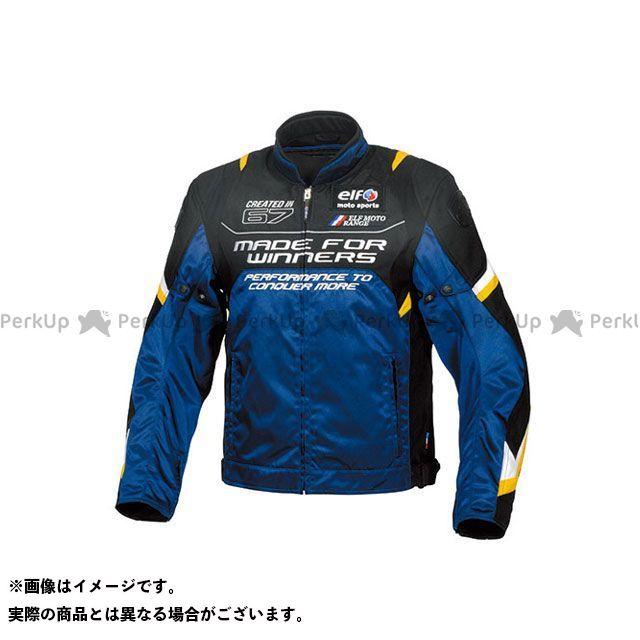 エルフ ライディングウェア ジャケット 2019-2020秋冬モデル EL-9245 ヴィストーゾジャケット(ブルー) サイズ:L elf riding wear