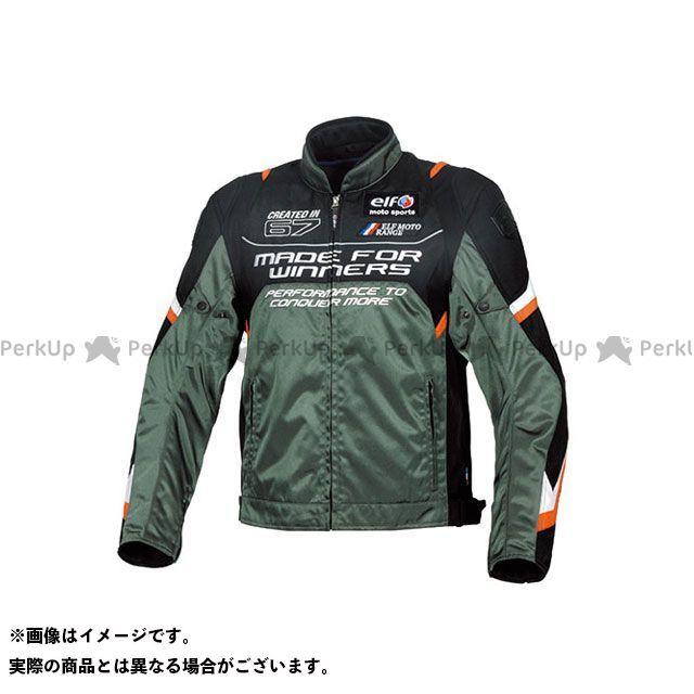 エルフ ライディングウェア ジャケット 2019-2020秋冬モデル EL-9245 ヴィストーゾジャケット(ガンメタリック) サイズ:L elf riding wear