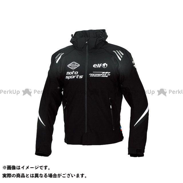 エルフ ライディングウェア ジャケット 2019-2020秋冬モデル EL-9246 アルバーノストレッチパーカー(ブラック) サイズ:L elf riding wear