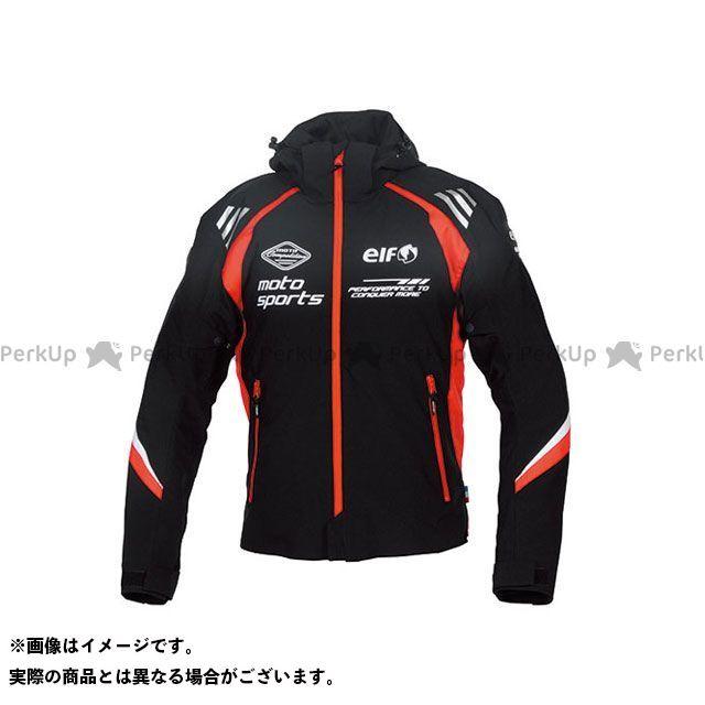 エルフ ライディングウェア ジャケット 2019-2020秋冬モデル EL-9246 アルバーノストレッチパーカー(レッド) サイズ:L elf riding wear