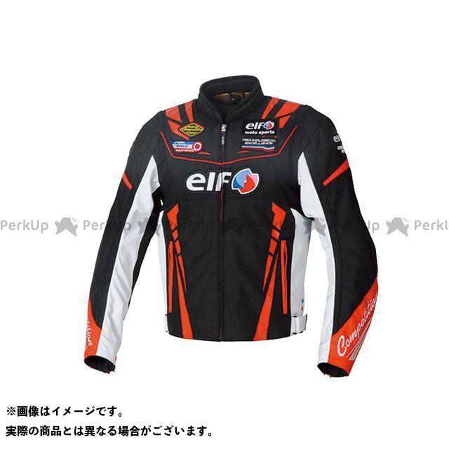 エルフ ライディングウェア ジャケット 2019-2020秋冬モデル EL-9247 ヴィットリアスポルトジャケット(ブラック&レッド) サイズ:S elf riding wear