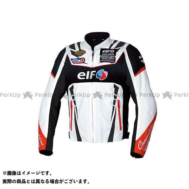 エルフ ライディングウェア ジャケット 2019-2020秋冬モデル EL-9247 ヴィットリアスポルトジャケット(ホワイト) サイズ:L elf riding wear