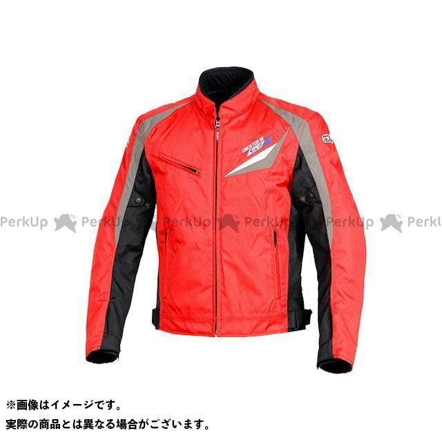 エルフ ライディングウェア ジャケット 2019-2020秋冬モデル EL-8241 スヴェルトジャケット(レッド) 3L elf riding wear