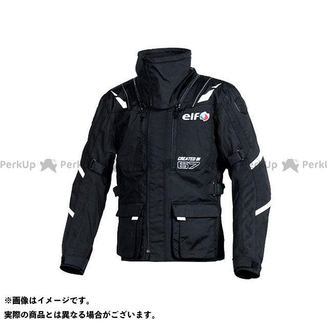 エルフ ライディングウェア ジャケット EL-8244 アッベントゥーレロングジャケット(ブラック) サイズ:LL elf riding wear
