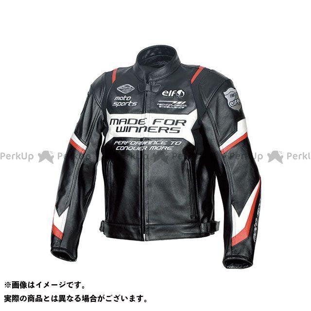エルフ ライディングウェア ジャケット 2019-2020秋冬モデル ELJ-A01 スポルトレザージャケット(レッド) サイズ:LL elf riding wear