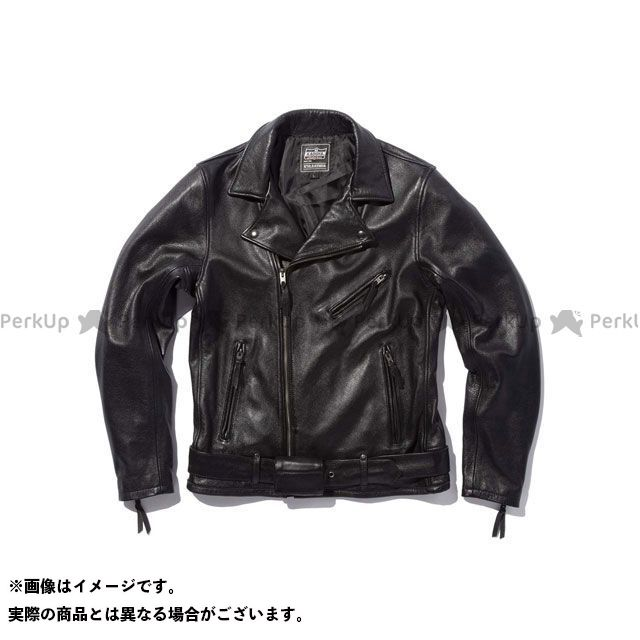 カドヤ ジャケット 2019-2020秋冬モデル K'S LEATHER No.1200 TOURUS(ブラック) L KADOYA