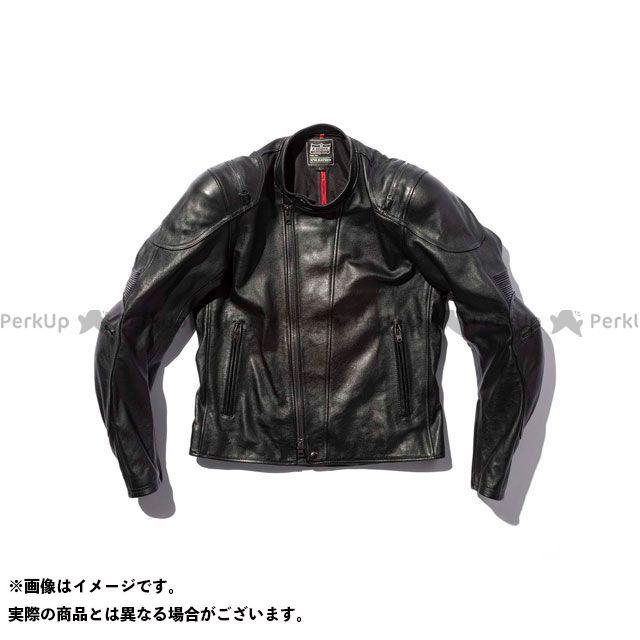 カドヤ ジャケット 2019-2020秋冬モデル K'S LEATHER No.1201 BRAWLER JAC(ブラック) サイズ:L KADOYA