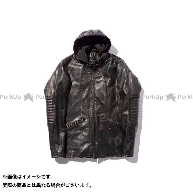 カドヤ ジャケット 2019-2020秋冬モデル K'S LEATHER No.1202 VERMILLION(ブラック) サイズ:LL KADOYA