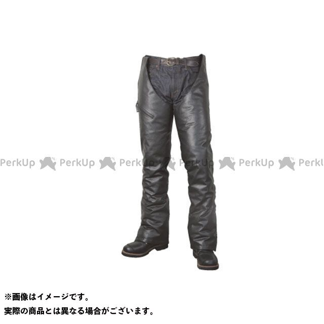 ラフアンドロード パンツ RA7056 サイドZIPレザーレッグウォーマー(ブラック) サイズ:ロング(身長165~185cm) ラフ&ロード