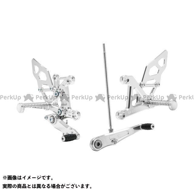 【無料雑誌付き】MORIWAKI 400X CBR400R バックステップ関連パーツ バックステップキット(シルバー) モリワキ