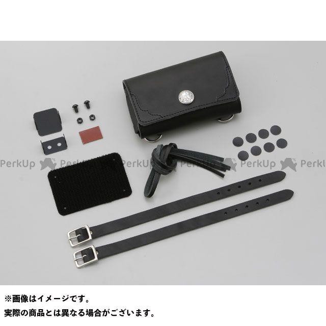 デイトナ 汎用 電子機器類 ETCケース アンテナ別体型用(BE51/JRM-11対応) カラー:ブラック 革鎧