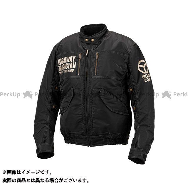 YeLLOW CORN ジャケット 2019-2020秋冬モデル YB-9300 ウインタージャケット(ブラック) サイズ:LL イエローコーン
