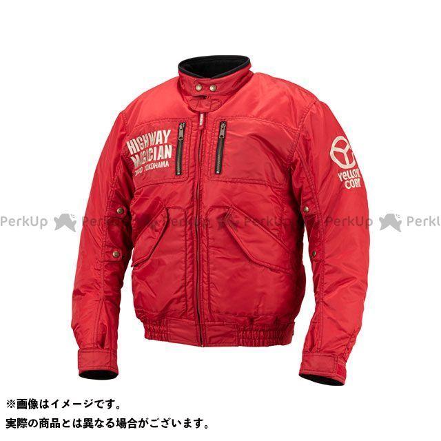 YeLLOW CORN ジャケット 2019-2020秋冬モデル YB-9300 ウインタージャケット(レッド) サイズ:L イエローコーン