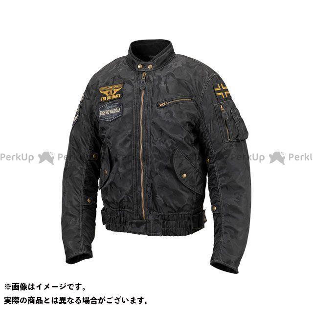 YeLLOW CORN ジャケット 2019-2020秋冬モデル YB-9301 ウインタージャケット(ブラックカモフラージュ) サイズ:3LW イエローコーン