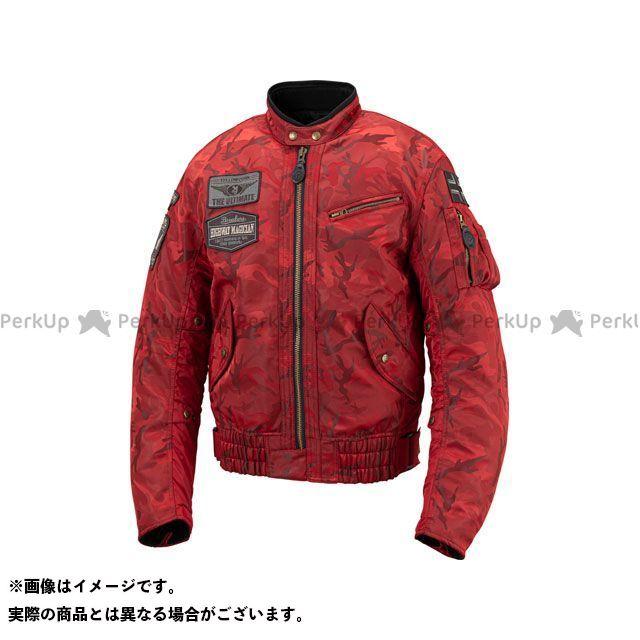 YeLLOW CORN ジャケット 2019-2020秋冬モデル YB-9301 ウインタージャケット(レッドカモフラージュ) サイズ:3L イエローコーン