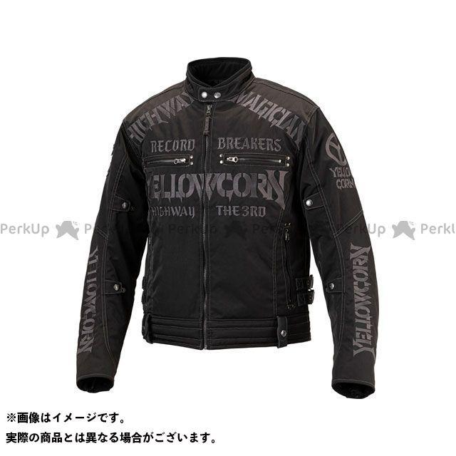 YeLLOW CORN ジャケット 2019-2020秋冬モデル YB-9305 ウインタージャケット(ブラック/ガンメタル) サイズ:LL イエローコーン