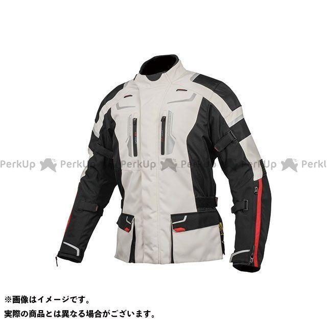 KOMINE ジャケット 2019-2020秋冬モデル JK-597 フルイヤージャケット(ライトグレー/ブラック) サイズ:M コミネ
