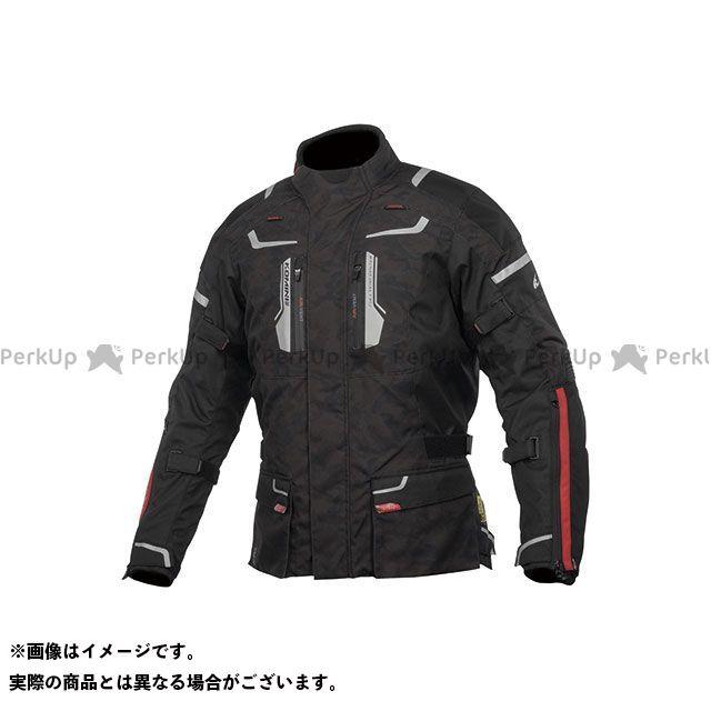 KOMINE ジャケット 2019-2020秋冬モデル JK-597 フルイヤージャケット(ブラックカモ) サイズ:L コミネ