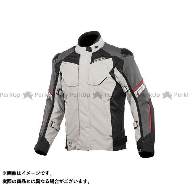 KOMINE ジャケット 2019-2020秋冬モデル JK-598 プロテクトフルイヤージャケット(ライトグレー/ブラック) 2XL コミネ