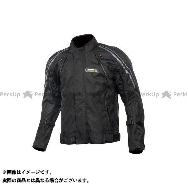 KOMINE ジャケット 2019-2020秋冬モデル JK-599 フルイヤーシステムジャケット(ブラック) サイズ:XL コミネ