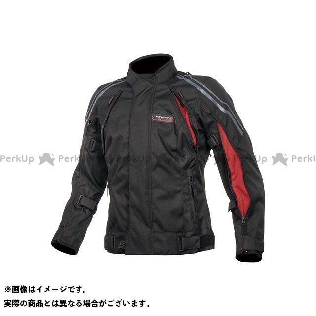KOMINE ジャケット 2019-2020秋冬モデル JK-599 フルイヤーシステムジャケット(ブラック/レッド) サイズ:3XL コミネ