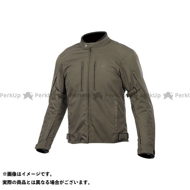 KOMINE ジャケット 2019-2020秋冬モデル JK-603 プロテクトウィンタージャケット(オリーブ) サイズ:3XL コミネ