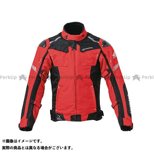 ホンダ ジャケット Honda 2019-2020秋冬モデル オールシーズンカーボンジャケット(レッド) サイズ:M Honda