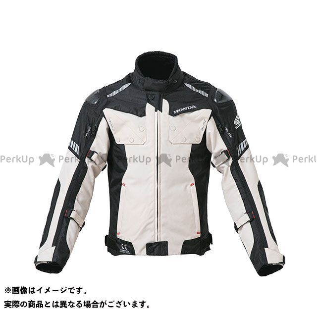 ホンダ ジャケット Honda 2019-2020秋冬モデル オールシーズンカーボンジャケット(ライトグレー) サイズ:3L Honda