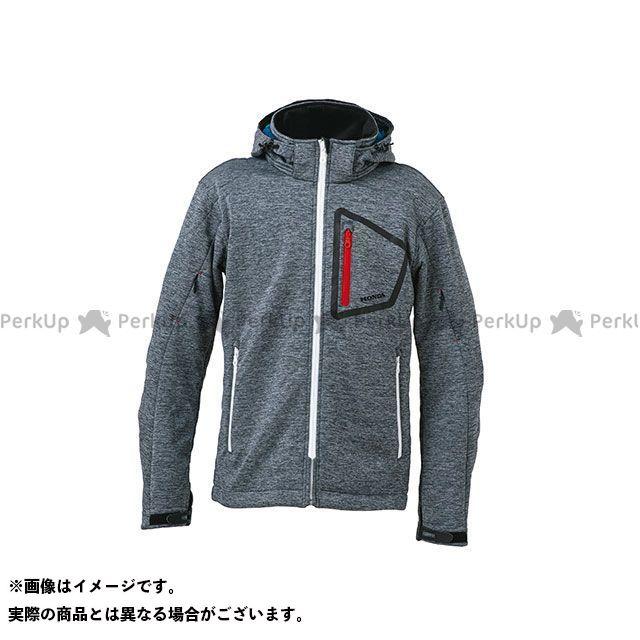 ホンダ カジュアルウェア Honda 2019-2020秋冬モデル ソフトシェルライディングフーディー(グレー) サイズ:M Honda