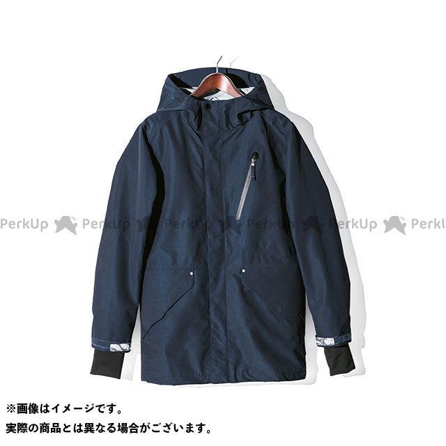 ホンダ ジャケット Honda 2019-2020秋冬モデル ライディングカバーオール(ネイビー) サイズ:M Honda