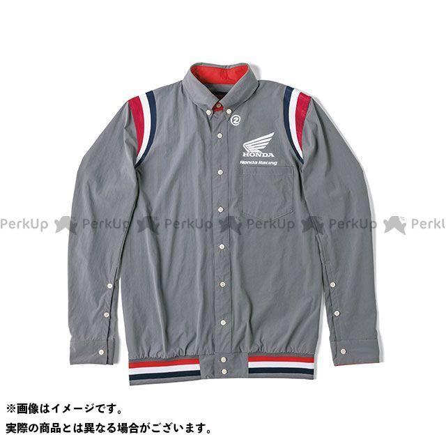 ホンダ その他アパレル Honda×SHINICHIRO ARAKAWA 2019-2020秋冬モデル 裾リブピットシャツ LS(グレー) サイズ:L Honda
