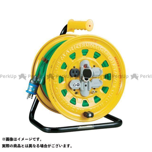 TRUSCO 光学用品 プロソフトケーブルコードリール 30m 漏電防止付き TRUSCO