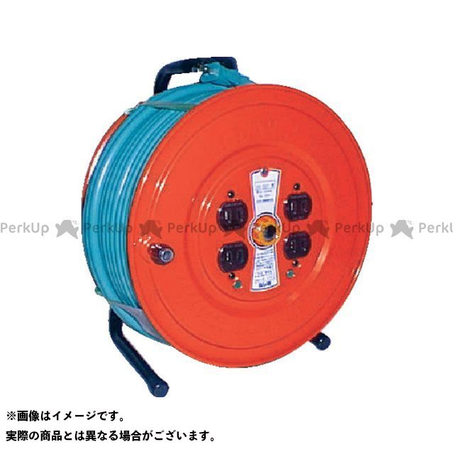 TRUSCO 光学用品 ソフトケーブルコードリール 50m  TRUSCO