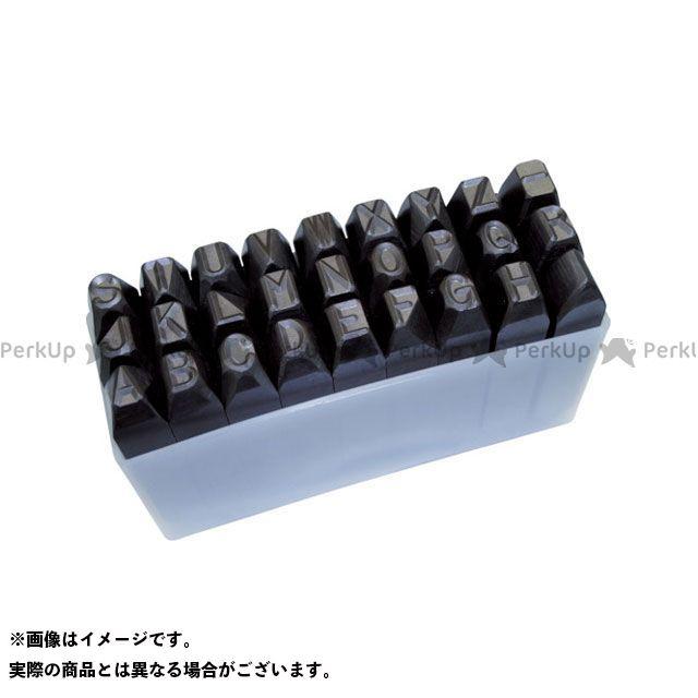 TRUSCO ハンドツール 逆英字刻印セット 13mm  TRUSCO