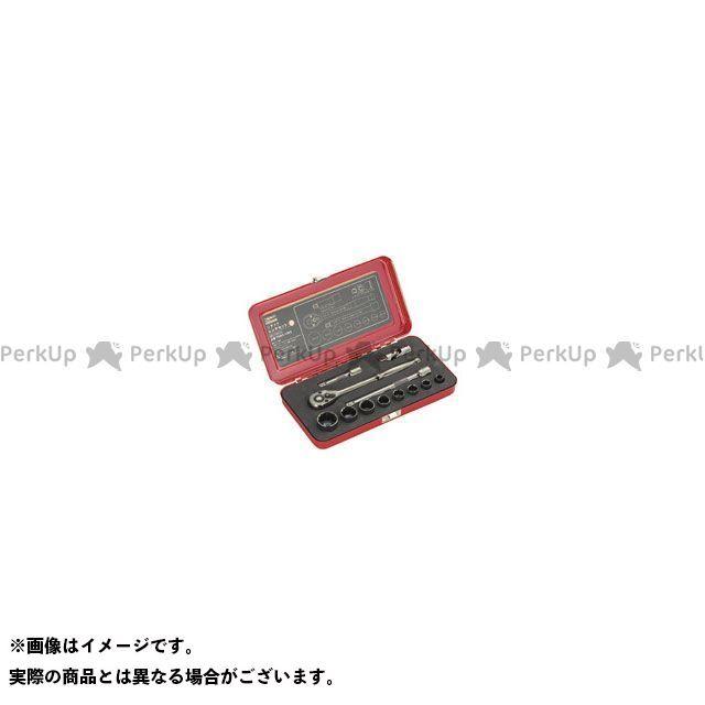 TRUSCO ハンドツール ソケットレンチセット(差込角9.5mm) TSW3-12BS TRUSCO