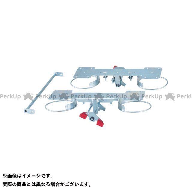 TRUSCO 作業場工具 ドンキーカート用リング式ストッパー 自在4輪用 100JRS4 TRUSCO